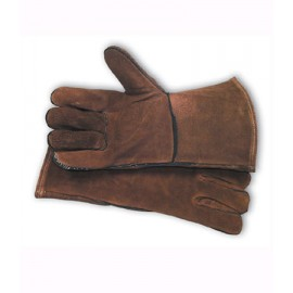 Split Leather with Liner Welder's Glove (LARGE)