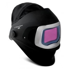 3M™ Speedglas™ Welding Helmet 9100 FX 06-0600-30SW, SideWindows Auto-Darkening Filter 9100XX Shade 5, 8-13