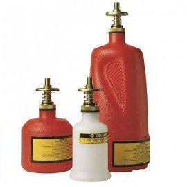 Justrite Non-Metallic Dispensing Cans
