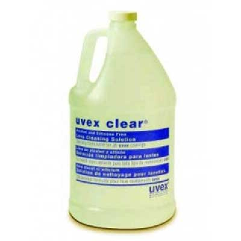 Uvex Clear Lens Cleaning Solution - Gallon