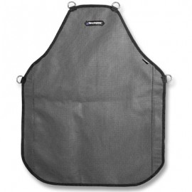 "HexArmor  Protective Apron 24"" x 30"" (double layer) AP322 Heavy Duty Protective Apron Gray Color 1 Each"