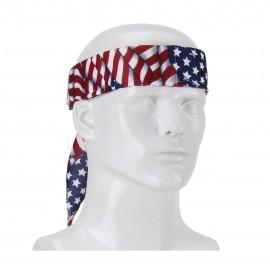 PIP EZ-Cool® Evaporative Mesh Cooling Bandana Patriotic Color One Size - 12 / Box