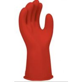 "Red Class 0 14"" Insulating Rubber Gloves"