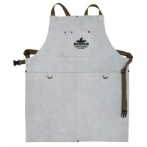"Memphis Welding Bib Apron with Front Pocket, 24"" x 30"" - 38130MW"