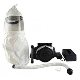 Bullard EVA Powered Air Purifying Respirator (PAPR) System with 20TIC Acetate Lens Hood