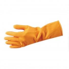 "Latex 28 ml Flk Line Orange 13"" Glove-Md"