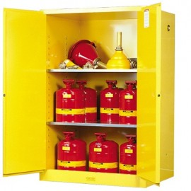 Justrite Sure-Grip EX Safety Cabinet - 90 Gallon
