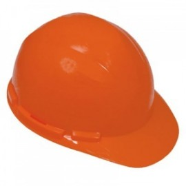 Construction Hard Hat with Ratchet Suspension