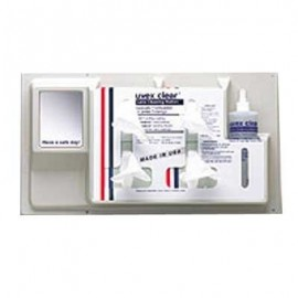 Uvex Clear Permanent Lens Cleaning Station