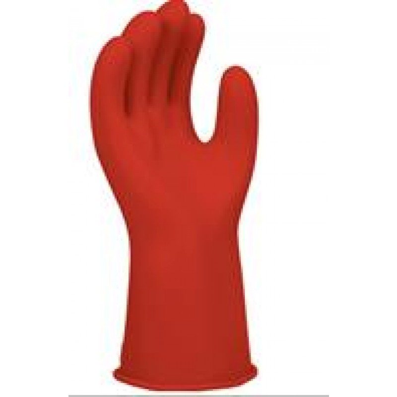 """Chicago Protective Apparel LRIG-00-14-SIZE-R, Class 00, 14"""" Length, Color: Red (E0014R)"""