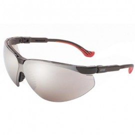 Uvex Genesis XC Safety Glasses - Silver Mirror Lens