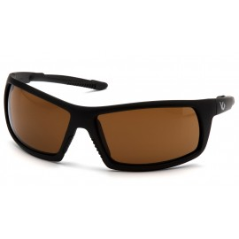 Venture Gear Tactical - Stonewall - Black Frame/Bronze Anti-Fog Lens Polycarbonate Safety Glasses - 1 / EA