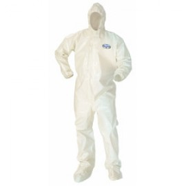 Kleenguard A80 Chemical Permeation & Jet Liquid Protection Coverall - Taped Seams - case quantity