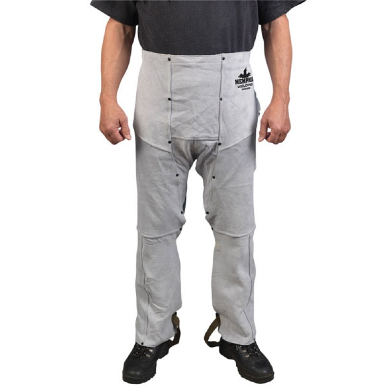 Memphis Welding Apparel - Welding Chaps 38 Inches Long 38600MW