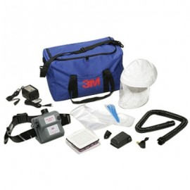 3M™ Air-Mate™ Vinyl Belt-Mounted High Efficiency HE Powered Air Purifying Respirator PAPR System AMH-12U