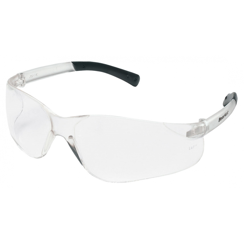 MCR BK110 - BEARKAT - Clear Lens Safety Glasses 12/Pairs