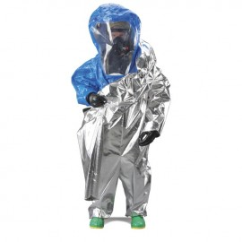 Interceptor Certified Encapsulated Suit - Front Entry - WideView Face Shield