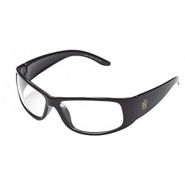 Jackson Safety Smith and Wesson Elite Safety Glasses with Black Frame and Clear Anti-Fog Lens 12 Pairs
