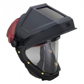 3M Bumpcap L-505 with Welding Shield and Wide-view Faceshield